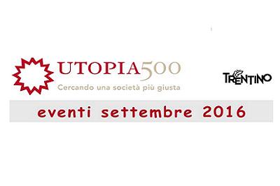 GLI EVENTI DI UTOPIA500
